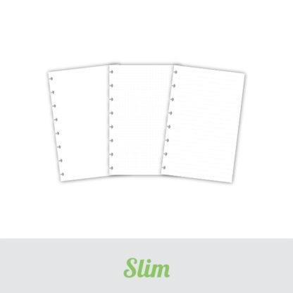 Nahradni listy velikost Slim
