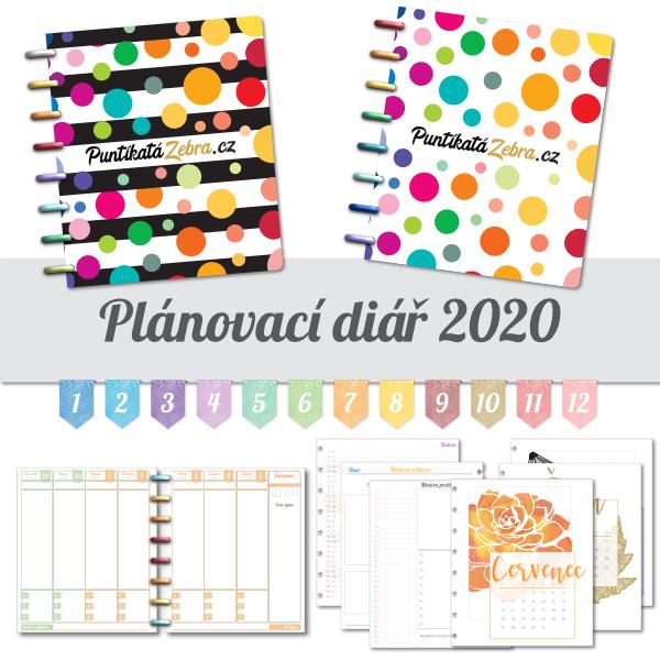 Planovaci diar klasik 2020