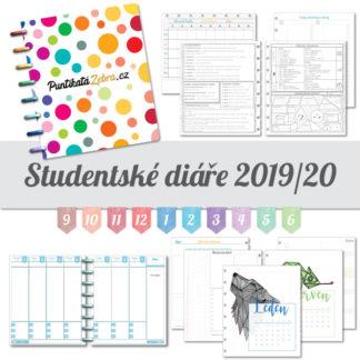 Studentsky diar klasik 2019 2020