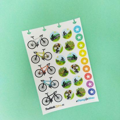 Samolepky cyklisticke