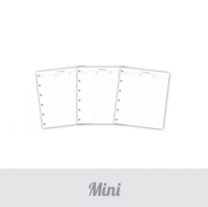 Kontakty listy Mini