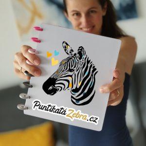 Puntikata Zebra Lucie Hofman