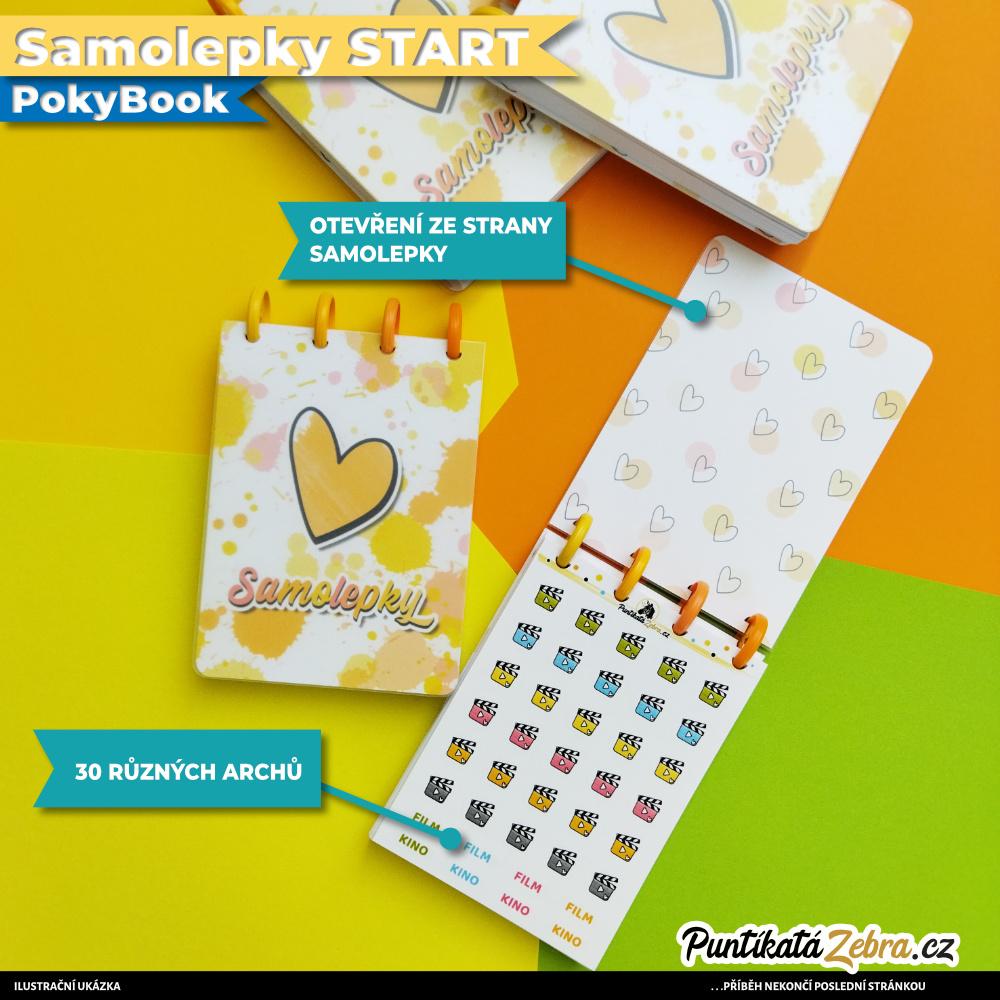 Samolepky START PokyBook